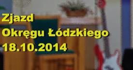 Zjazd Okręgu Łódzkiego 18-10-2014