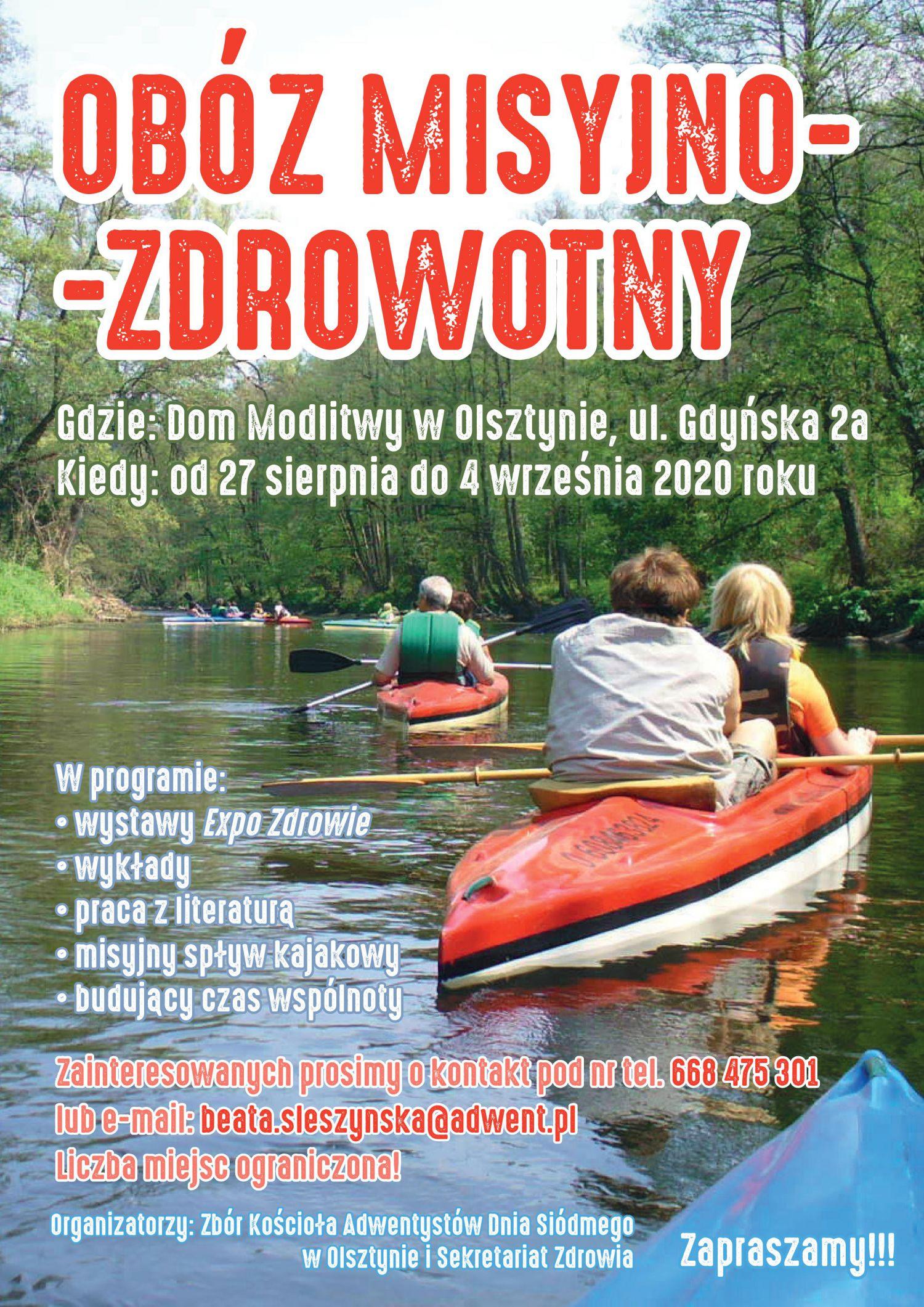obóz misyjny w Olsztynie