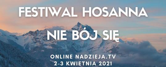 Festiwal Hosanna 2021