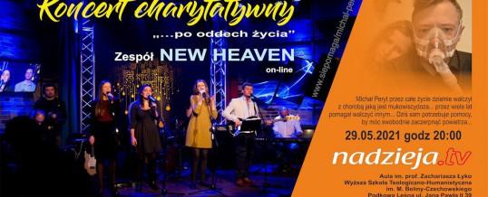 Koncert charytatywny zespołu NEW HEAVEN